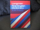Longman First English Dictionary - A W Frisby