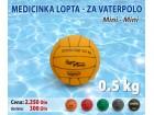 Lopta Medicinka / Medicinska Lopta Vaterpolo Mini 0,5kg