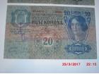 Lot od 2 novčanice Austrougarske
