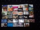 Lot od 35 telefonskih kartica Hrvatska i Srbija