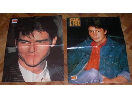 Lot postera iz 80-ih godina