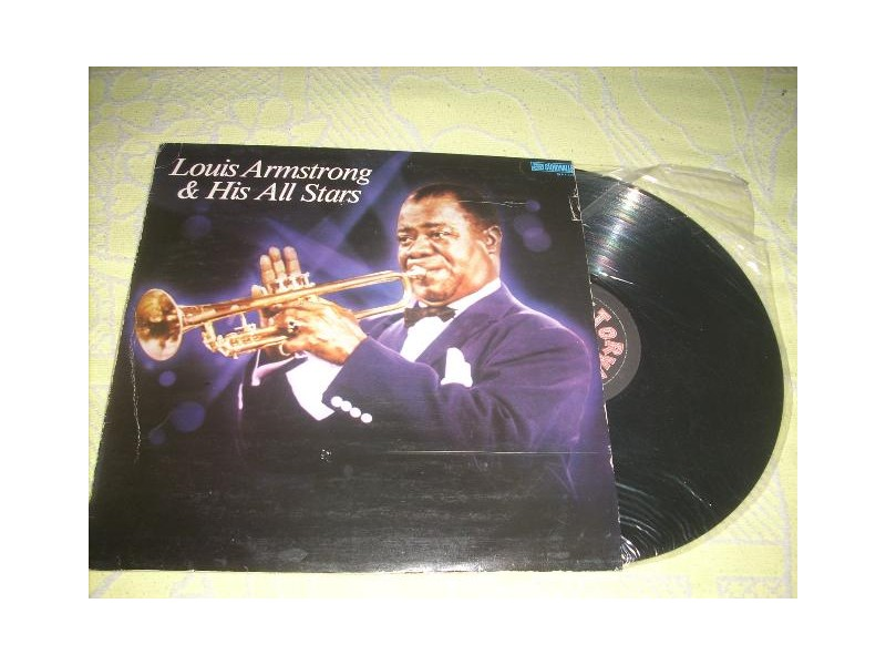 Louis Armstrong And His All Stars LP RTB ex