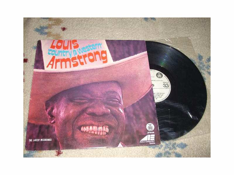 Louis Armstrong - `Country & Western` Armstrong LP RTB