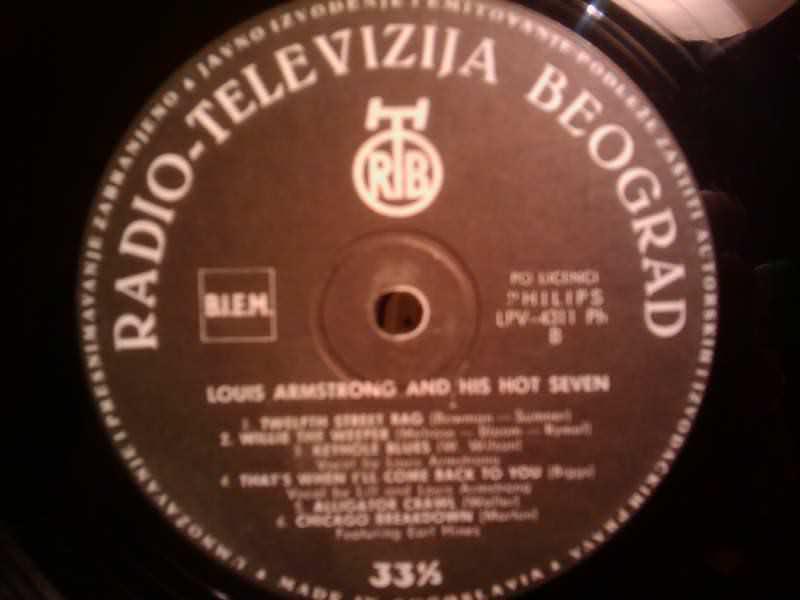 Louis Armstrong & His Hot Seven, Louis Armstrong & His Hot Seven - Louis Armstrong And His Hot Seven