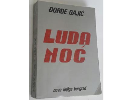 Luda noć - Đorđe Gajić