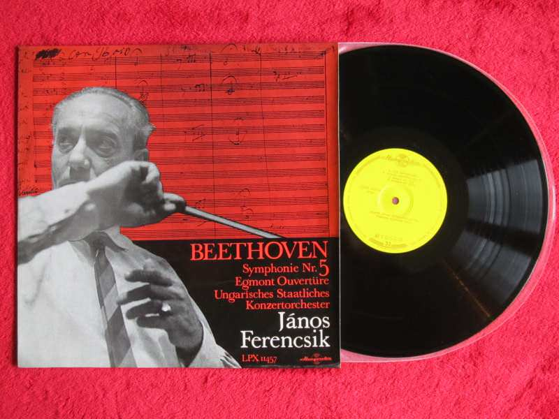 Ludwig van Beethoven, Hungarian State Orchestra, János Ferencsik - Symphony No. 5 In C-Minor, Op. 67 / Egmont Overture, Op. 84