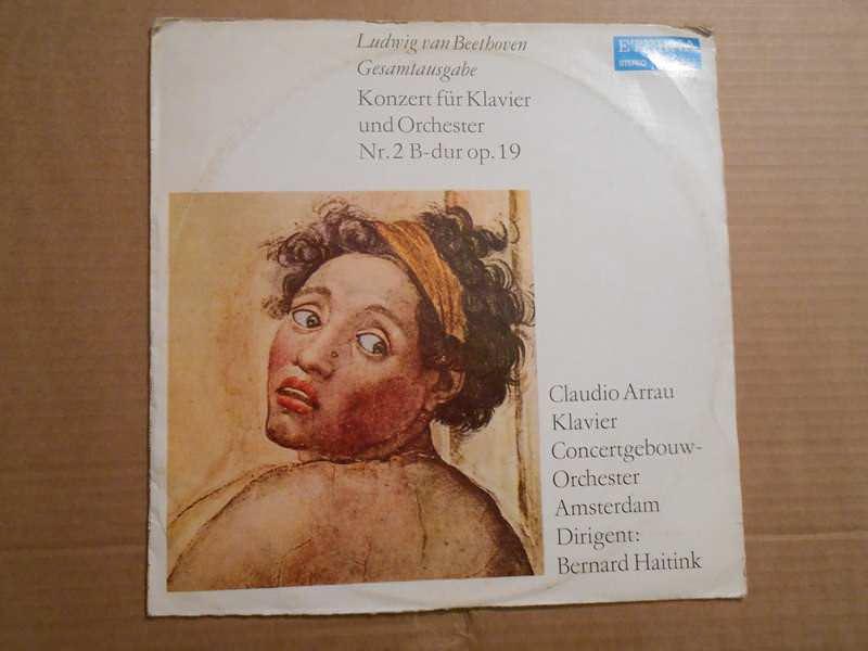 Ludwig van Beethoven - Klavierkonzert / Konzert Für Klavier Und Orchester Nr. 2 B-dur Op. 19