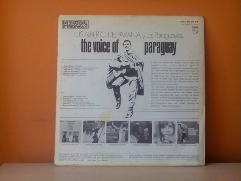 Luis Alberto Del Parana-The voice of Paraguay