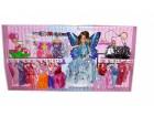 Lutka Barbika set sa 15 haljina + Beba  SUPER POKLON