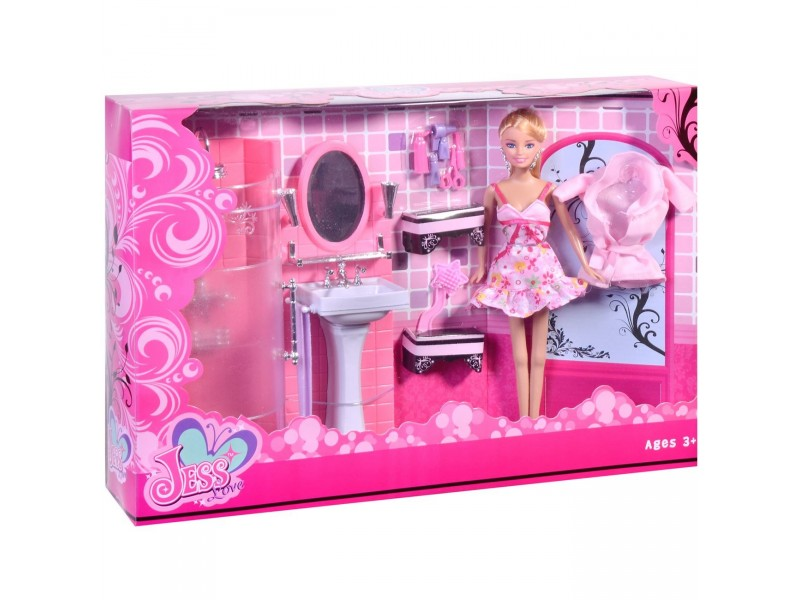 Lutka i kupatilo set - VELIKI SET