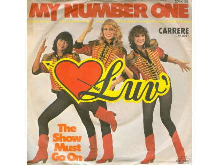 Luv` - My Number One