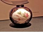 Lux Vazna - LINDER - Porcelan, Kobalt, Pozlata