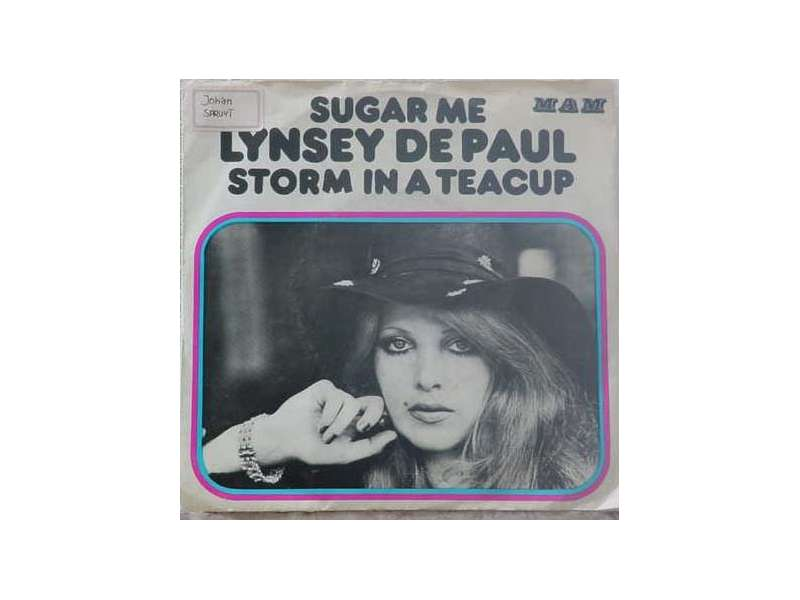 Lynsey De Paul - Sugar Me / Storm In A Teacup