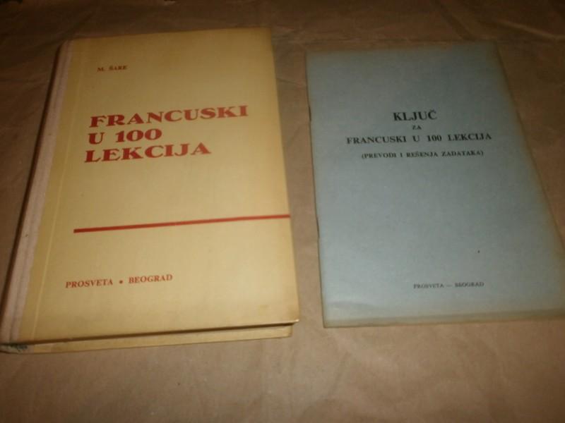 M.Sare    FRANCUSKI U 100 LEKCIJA   knjiga i kljuc