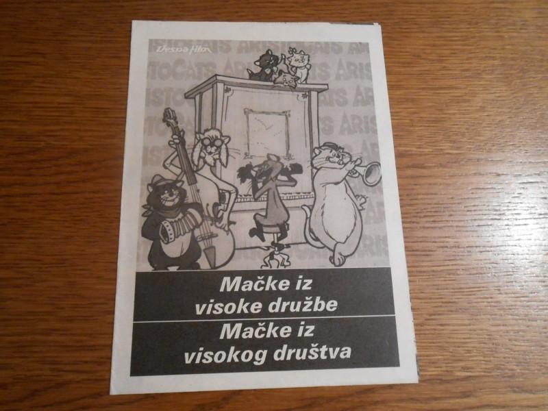 MACKE IZ VISOKOG DRUSTVA
