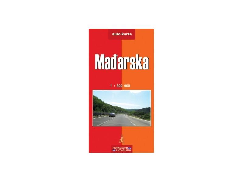 Mađarska Auto Karta Grupa Autora Kupindo Com 39043567