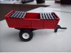 MAJORETTE traktorska priklolica sa nastavcima - veca