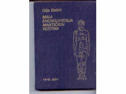 MALA ENCIKLOPEDIJA MANTICKIH VESTINA- OLJA BAKIC