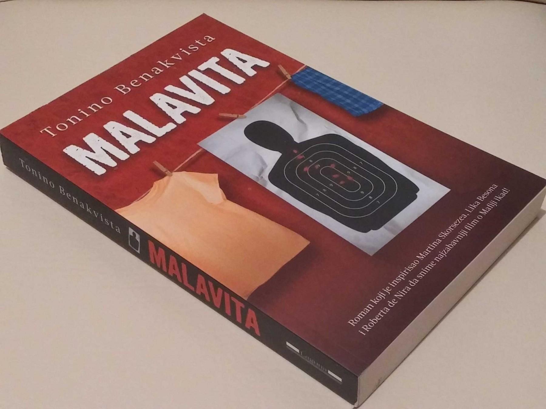 Резултат с изображение за malavita book cover