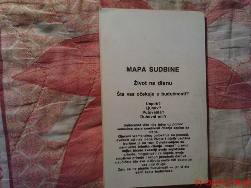 MAPA SUDBINE --  GRUPA AUTORA