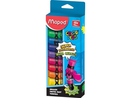 MAPED tempere Color Peps 12 810510