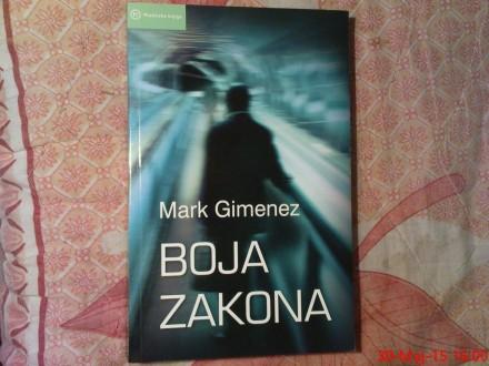 MARK GIMENEZ -  BOJA ZAKONA
