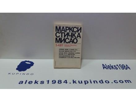 MARKSISTIČKA MISAO 3-4/87