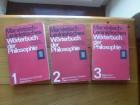 MARXISTISCH-LENINISTEISCHES WORTERBUSH DER PHILOSOP.1-3