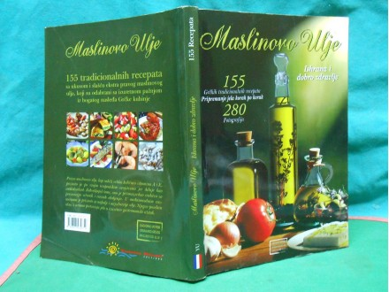 MASLINOVO ULJE -155.grčkih tradicionalnih recepata