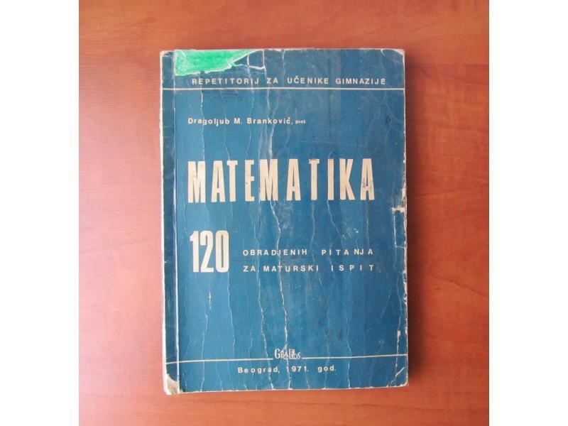 MATEMATIKA 120