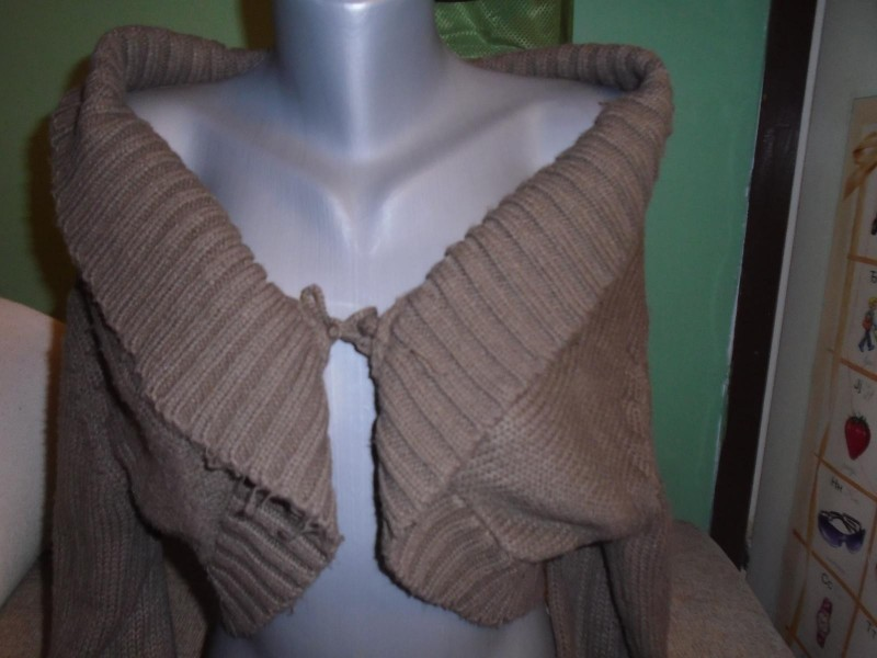 MAXERS kvalitetan džemper / bolero L (40-44) - ODLIČAN!
