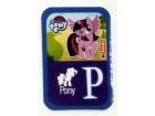 MAXI magnet PONY - slovo P