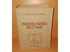 MEDICINSKI REČNIK - Dr ALEKSANDAR KOSTIĆ