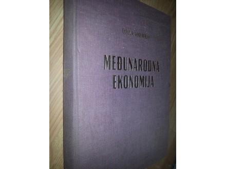 MEDJUNARODNA EKONOMIJA