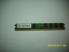 MEMORIJA DDR2,1G 800DIMM,Transcend