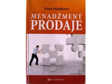 MENADŽMENT PRODAJE - Vesna Miladinović