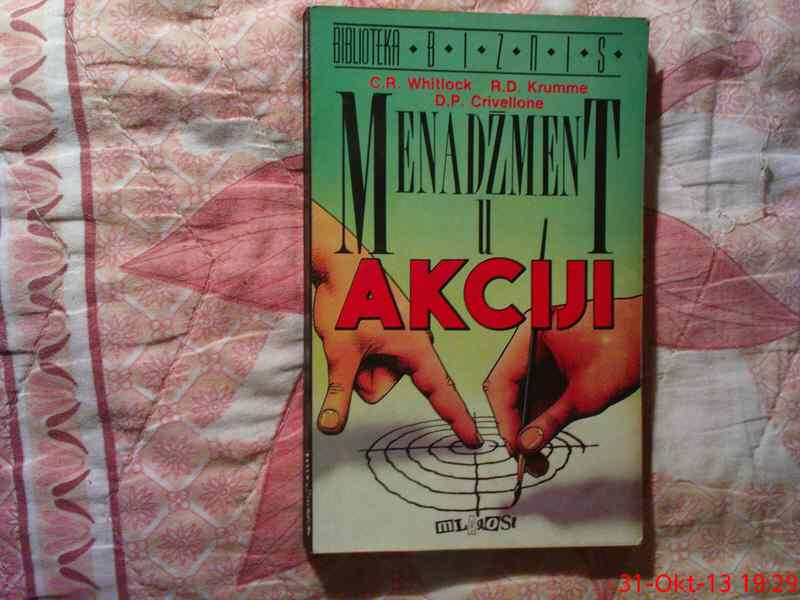 MENADZMENT U AKCIJI - C. R. WHITLOCK - KRUMME - CRIVELL