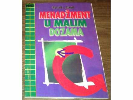MENADZMENT U MALIM DOZAMA   Rusel Ackof