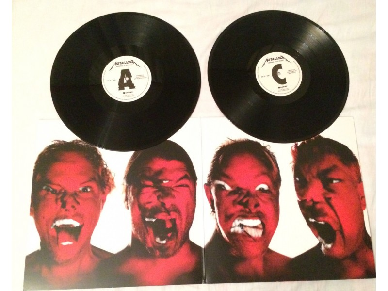 METALLICA - Hardwired... To Self-Destruct (LP)