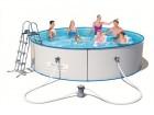 METALNI bazen galvanizovana oplata 360x90cm NOVO