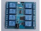 MICRO USB 5V  8-kanalni modul