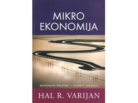 MIKROEKONOMIJA - MODERA PRISTUP - HAL R. VARIJAN