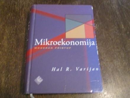 MIKROEKONOMIJA : MODERAN PRISTUP - Hal R. Vari