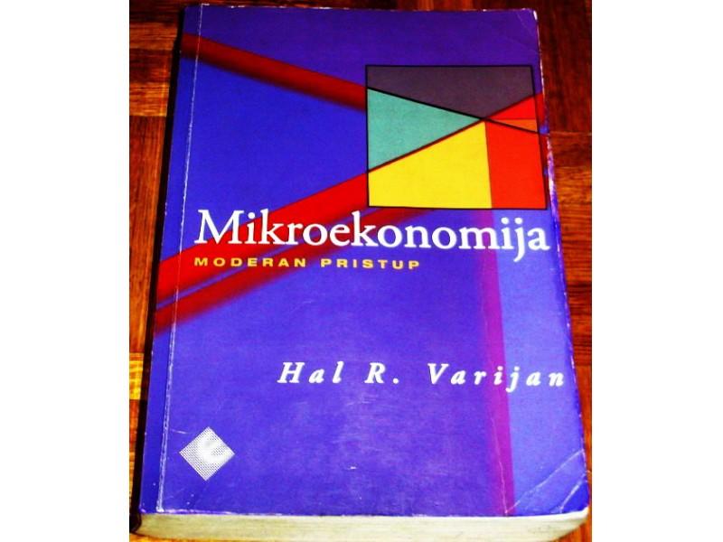 MIKROEKONOMIJA : MODERAN PRISTUP - Hal R. Varijan