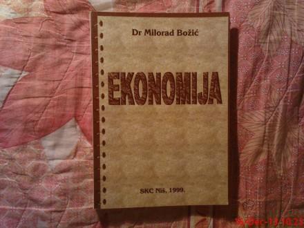 MILORAD BOZIC DR. - EKONOMIJA