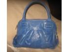 MODAPELLE plava torba prirodna koža
