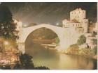 MOSTAR / Stari most 1980. - pre rušenja hrvatskih Zengi