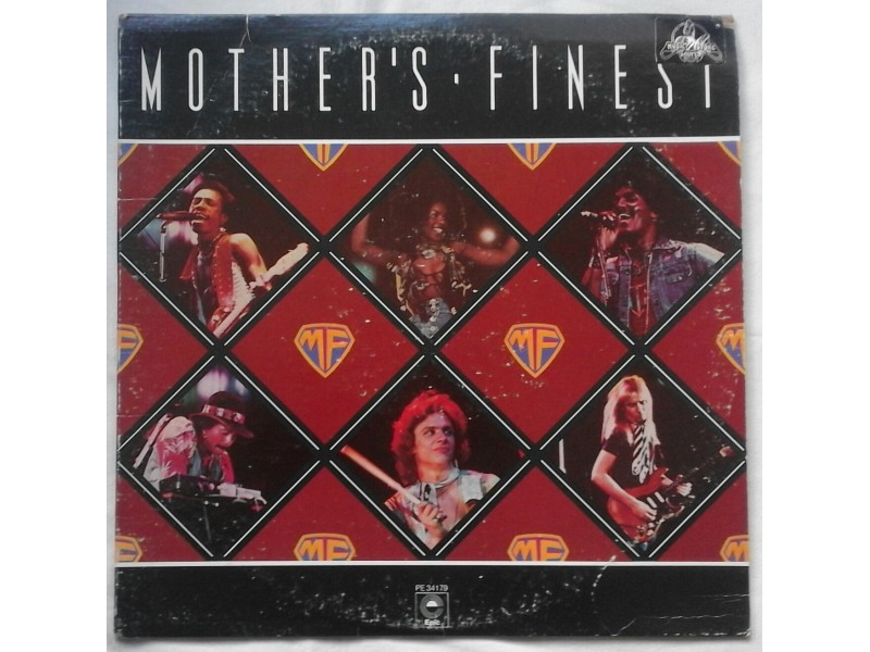 MOTHER`S  FINEST  -  MOTHER`S  FINEST