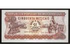 MOZAMBIK 50 metikasa (1986)  UNC