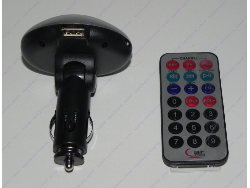MP3 FM transmiter 10 + BESPL DOST. ZA 3 ART.